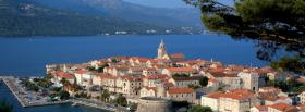 free croatia korcula city facebook cover
