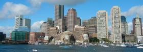 boston downtown city facebook cover