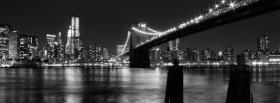 free new york city at night facebook cover
