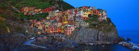 manarola cinque terre city facebook cover