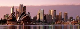 free sydney city opera house facebook cover