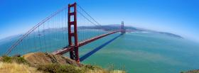 free view golden gate bridge facebook cover
