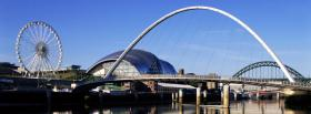 free gateshead millenium bridge facebook cover