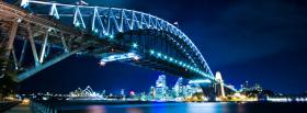 harbour bridge sydney city facebook cover