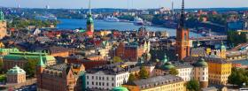sweden stockholm city facebook cover