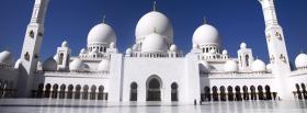 the abu dhabi mosque facebook cover