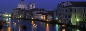 free grand canal venice city facebook cover