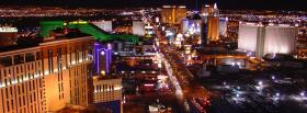 strip las vegas city facebook cover