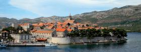 free korcula city facebook cover