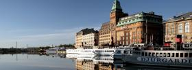 free stockholm city facebook cover