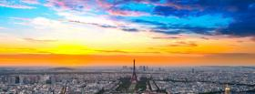free paris city facebook cover