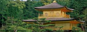 free kinkakuji kyoto city facebook cover