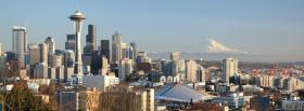 free seattle washington city facebook cover