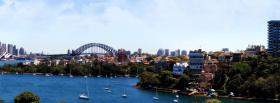 free sydney australia city facebook cover