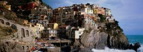 manarola city facebook cover