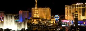 fun las vegas city facebook cover