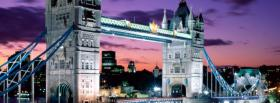 free tower bridge england city facebook cover