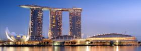 marina bay sands singapore facebook cover