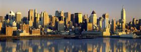 free new york urban city facebook cover