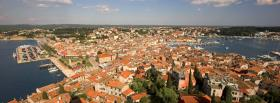 view of rovinj city facebook cover