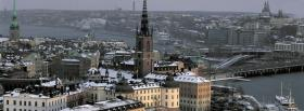 free stockholm sweden city facebook cover