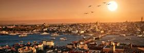 free istanbul and city facebook cover