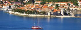 korcula croatia city facebook cover