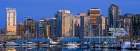 free vancouver canada city facebook cover
