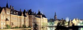 free hague netherlands city facebook cover