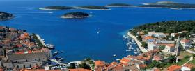 free hvar croatia city facebook cover