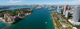 free miami florida city facebook cover