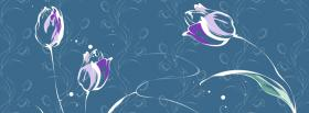 free three roses creative facebook cover