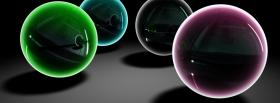 free balls colors creative facebook cover