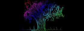 free drawed tree creative facebook cover