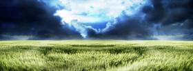 free clouds grass creative facebook cover