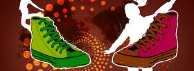 free dancing shoes creative facebook cover