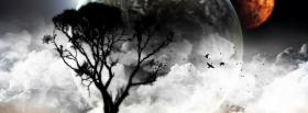 free moon and tree creative facebook cover