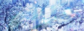free light blue city creative facebook cover