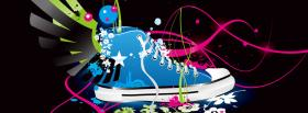free shoe creative explosion facebook cover