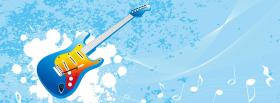 free guitar and music creative facebook cover