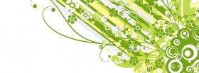free green explosion creative facebook cover