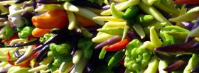 free vegetables food facebook cover