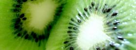 free tasty kiwi pieces facebook cover