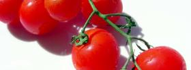 cherry tomatoes facebook cover