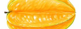 big orange fruit facebook cover