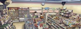 free supermarket manga facebook cover