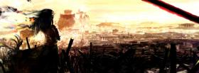free city scenery manga facebook cover