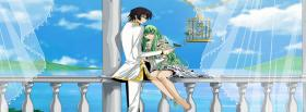 free outside couple anime manga facebook cover