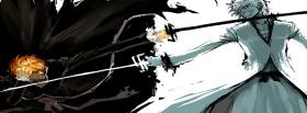 free bleach fighting manga facebook cover
