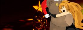 free hugging bear anime manga facebook cover